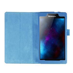 Dvoupolohové pouzdro na tablet Lenovo Tab 2 A7-20 - světlemodré - 6
