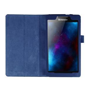 Dvoupolohové pouzdro na tablet Lenovo Tab 2 A7-20 - tmavěmodré - 6