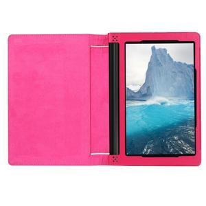 Safe PU kožené pouzdro na tablet Lenovo Yoga Tab 3 8.0 - rose - 6
