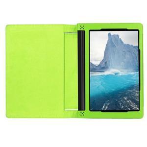 Safe PU kožené pouzdro na tablet Lenovo Yoga Tab 3 8.0 - zelené - 6