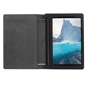 Safe PU kožené pouzdro na tablet Lenovo Yoga Tab 3 8.0 - černé - 6
