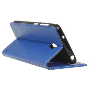 Leat PU kožené pouzdro Lenovo Vibe P1 - modré - 6