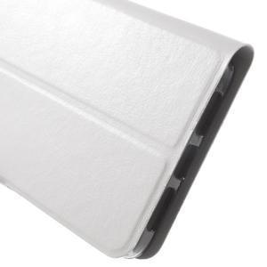 Horse peněženkové pouzdro na Lenovo Vibe P1 - bílé - 6