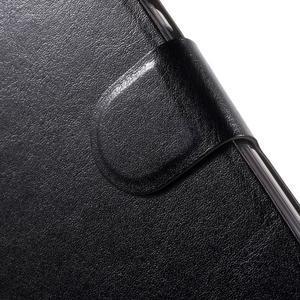 Horse peněženkové pouzdro na Lenovo Vibe P1 - černé - 6