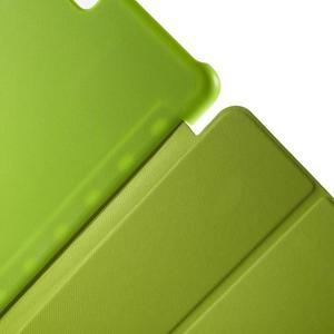 Trifold polohovatelné pouzdro na Samsung Galaxy Tab A 9.7 - zelené - 6