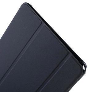 Trifold polohovatelné pouzdro na Samsung Galaxy Tab A 9.7 - tmavěmodré - 6
