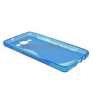Gelové s-line pouzdro na Samsung Galaxy A3 - modrá - 6