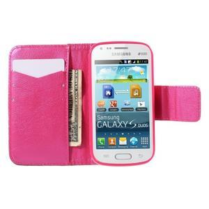 Peněženkové pouzdro pro Samsung Galaxy S Duos / Trend Plus - srdce - 6
