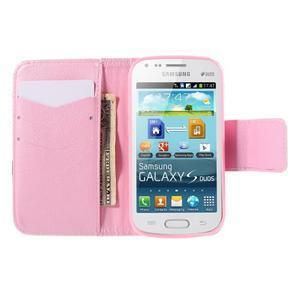 Peněženkové pouzdro pro Samsung Galaxy S Duos / Trend Plus - sova - 6