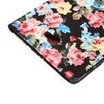 Květinové pouzdro na tablet Samsung Galaxy Tab A 10.1 (2016) - černé - 6/7