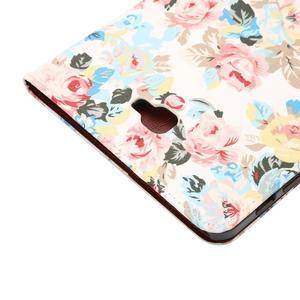 Květinové pouzdro na tablet Samsung Galaxy Tab A 10.1 (2016) - bílé - 6