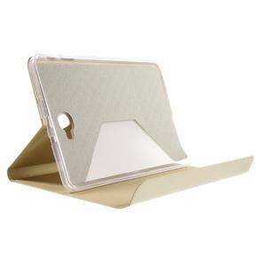 Flippy stylové pouzdro na Samsung Galaxy Tab A 10.1 (2016) - zlaté - 6