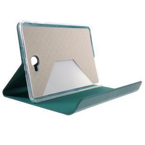 Flippy stylové pouzdro na Samsung Galaxy Tab A 10.1 (2016) - zelenomodré - 6