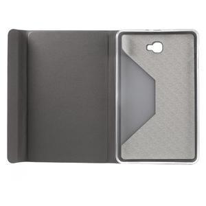 Flippy stylové pouzdro na Samsung Galaxy Tab A 10.1 (2016) - šedé - 6