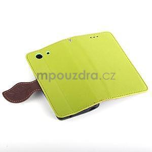 Leaf peněženkové pouzdro na Sony Xperia Z3 Compact - zelené - 6