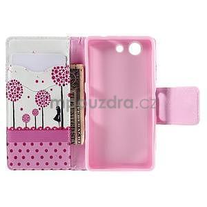 Pouzdro na mobil Sony Xperia Z3 Compact - děvče a pampelišky - 6