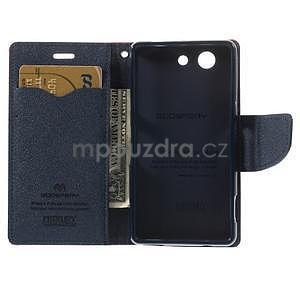 Diary peněženkové pouzdro na mobil Sony Xperia Z3 Compact - červené - 6