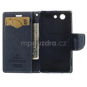Diary peněženkové pouzdro na mobil Sony Xperia Z3 Compact - zelené - 6