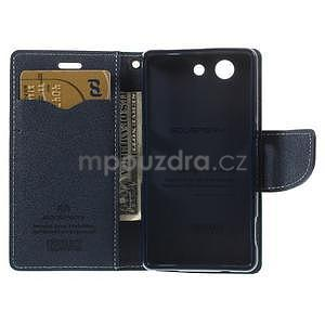 Diary peněženkové pouzdro na mobil Sony Xperia Z3 Compact - azurové - 6