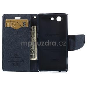 Diary peněženkové pouzdro na mobil Sony Xperia Z3 Compact - fialové - 6