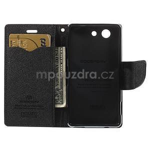 Diary peněženkové pouzdro na mobil Sony Xperia Z3 Compact - hnědé - 6
