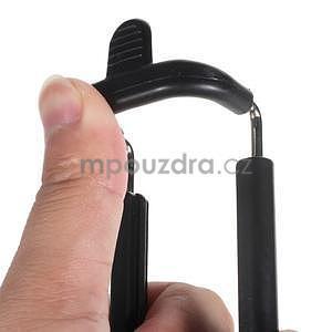GX automatická selfie tyč se spínačem - černá - 6