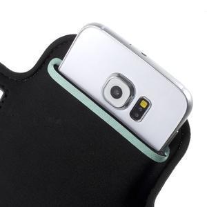 Fittsport pouzdro na ruku pro mobil do rozměrů 143.4 x 70,5 x 6,8 mm - bílé - 6