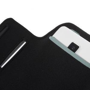 Gym běžecké pouzdro na mobil do rozměrů 153.5 x 78.6 x 8.5 mm - modré - 6