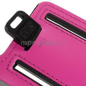 Soft pouzdro na mobil vhodné pro telefony do 160 x 85 mm - rose - 6
