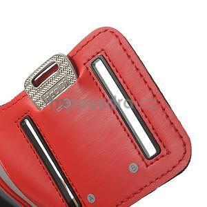 Jogy běžecké pouzdro na mobil do 125 x 60 mm - červené - 6