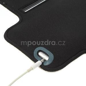 Gymfit sportovní pouzdro pro telefon do 125 x 60 mm - bílé - 6