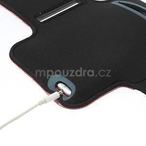 Gymfit sportovní pouzdro pro telefon do 125 x 60 mm - červené - 6