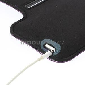 Gymfit sportovní pouzdro pro telefon do 125 x 60 mm - fialové - 6
