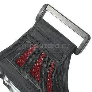 Absorb sportovní pouzdro na telefon do velikosti 125 x 60 mm - červené - 6
