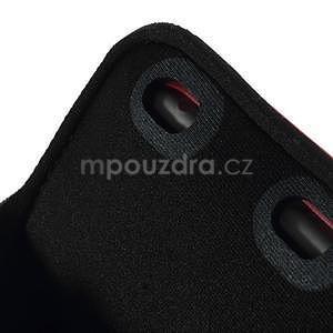Soft pouzdro na mobil vhodné pro telefony do 160 x 85 mm - červené - 6