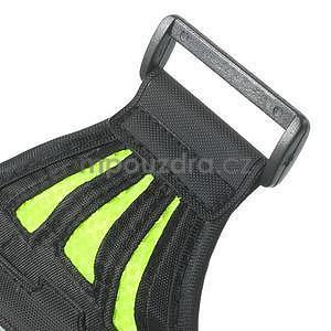 Absorb sportovní pouzdro na telefon do velikosti 125 x 60 mm - zelené - 6