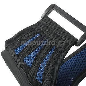 Absorb sportovní pouzdro na telefon do velikosti 125 x 60 mm - modré - 6