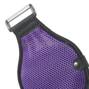 Absorb sportovní pouzdro na telefon do velikosti 125 x 60 mm - fialové - 6