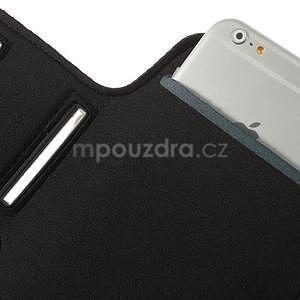 Běžecké pouzdro na ruku pro mobil do velikosti 152 x 80 mm - černé - 6