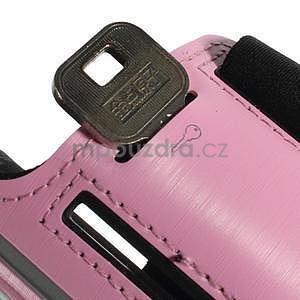 Soft pouzdro na mobil vhodné pro telefony do 160 x 85 mm - růžové - 6