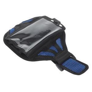 Fit pouzdro na mobil až do velikosti 160 x 85 mm - modré - 6