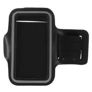 Všestranné pouzdro na ruku do rozměru telefonu 146 x 73 mm - černé - 6
