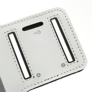 Bílé pouzdro na ruku do velikosti mobilu 125 x 61 mm - 6