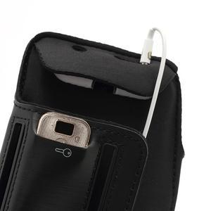 Sportovní pouzdro na ruku až do velikosti mobilu 140 x 70 mm - černé - 6