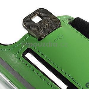 Soft pouzdro na mobil vhodné pro telefony do 160 x 85 mm - zelené - 6