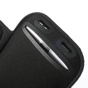 FitGym pouzdro na ruku pro telefon až do velikosti 145 x 73 mm - černé - 6