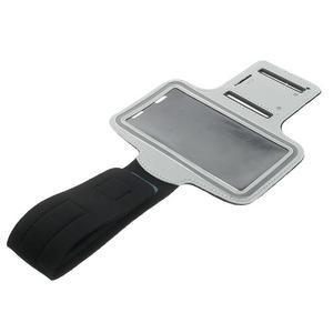 Fitsport pouzdro na ruku pro mobil do velikosti až 145 x 73 mm - šedé - 6