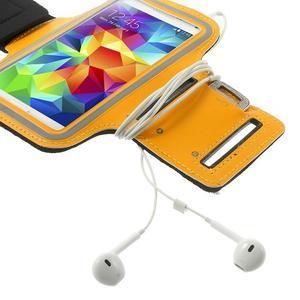 Fitsport pouzdro na ruku pro mobil do velikosti až 145 x 73 mm - oranžové - 6