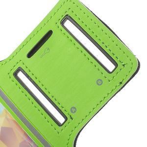 Fitsport pouzdro na ruku pro mobil do velikosti až 145 x 73 mm - zelené - 6