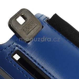 Soft pouzdro na mobil vhodné pro telefony do 160 x 85 mm - tmavě modré - 6
